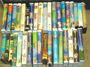 misc lot of VHS movies