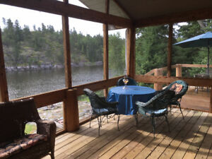 Home on Winnipeg River Immediate Possession Re/Max Kenora