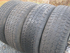 set of studded winter tires for sale