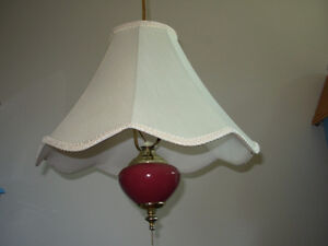 4 table lamps for 40.00