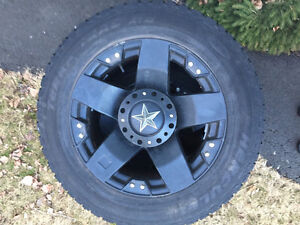 """20"""" Rockstar XD's with Hercules tires"""