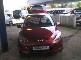 Mazda 2 1.5 ACTIVEMATIC TAMURA AUTO (red) 2014