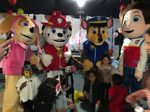 Paw Patrol at your party