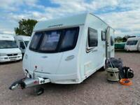 SOLD | LUNAR QUASAR 546 | 2013 | 6 BERTH TOURING CARAVAN | AIR AWNING | SOLD