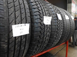 "255/70/18 Bridgestone Duelers  – 100's of 18"" Tires In Stock"