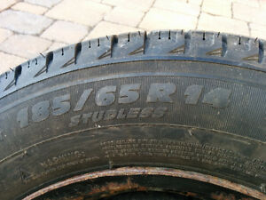 "Michelin snow tires 14"" London Ontario image 2"