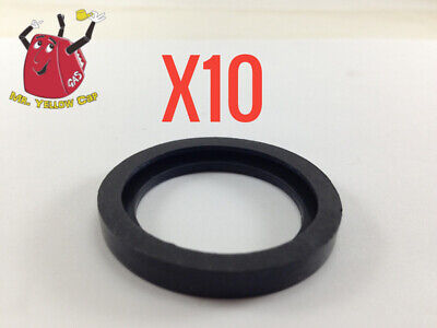 10 New Rubber Gaskets Gas Can Spout Gott Rubbermaid Blitz Wedco Scepter Eagle