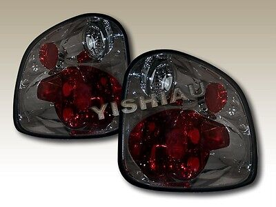 97 98 99 00 F150 F-150 Flareside Tail Lights Smoke Euro