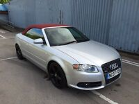 2007 07 Audi A4 Convertible S Line 2.0TDI - LOW MILES - Not replica 330d 320d C220 530d swap