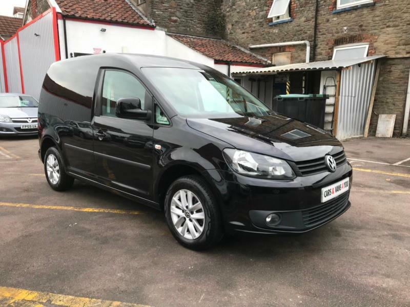 cfa55ed466 2014 VOLKSWAGEN CADDY C20 1.6 TDI 102 HIGHLINE PANEL VAN ONE OWNER FROM NEW