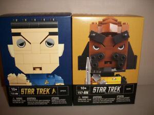 Star Trek Building Figures