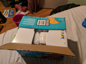 Newborn box of diapers new
