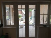 UPVC French patio doors and windows