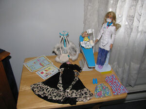 BARBIE DENTIST WITH ACCESSORIES