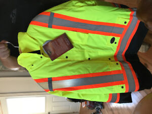 Men's double safety jackets