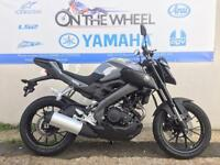 2016 YAMAHA MT-125 ABS NIGHT FLUO GREY, BRAND NEW! ON THE ROAD