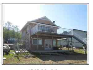 LAKEFRONT CABIN FOR SALE AT CHRISTOPHER LAKE