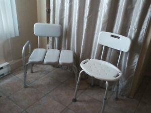 Chaises de bain pour personnes âgées