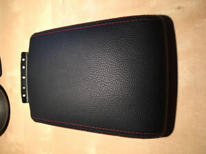 NEW – LEATHER Armrest extention 2011 Subaru Impreza WRX/STI