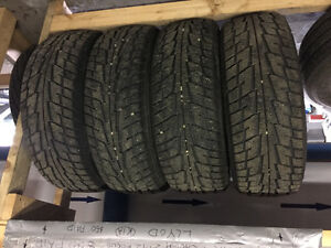 Set of 4 Used Winter Tires