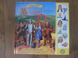 Collectors Wizard Of Oz Songs From The movie Kitchener / Waterloo Kitchener Area image 2