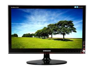 "SAMSUNG P2250 Rose Black 21.5"" LCD monitor monitor works perfect"