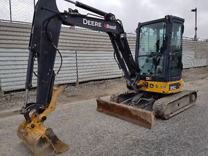 2015 John Deere 35G Mini Excavator For Sale