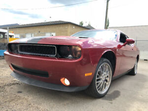 2009 DODGE CHALLANGER SE HAS JUST 128828 KMS AFTER MARKET ALLOYS