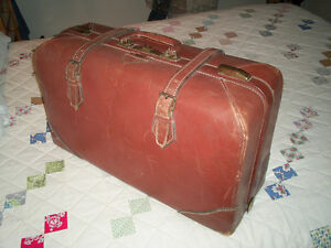 Leather Christie Baggage Suitcase