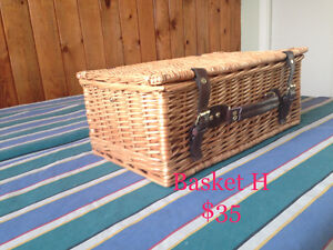 Various Wicker Baskets & Cases #2