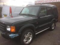 2001 Y PLATE LANDROVER DISCOVER TD5 AUTO