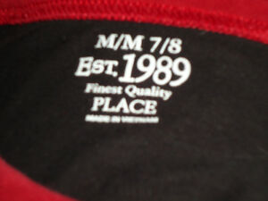 Boys Size 7/8 Long Sleeve Scary Cool *Children's Place** T-Shirt Kingston Kingston Area image 3