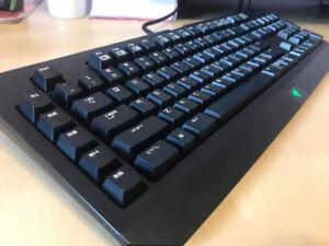 Razer Blackwidow Mechanical Key Board (Blue Switches)