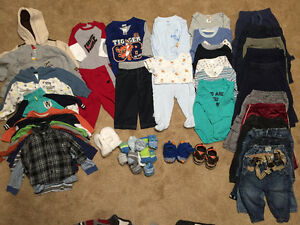 Baby boy clothes lot 6-12 months