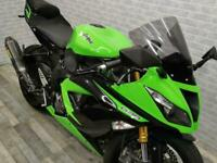 2016 (16) KAWASAKI ZX-6R 636 with 21848 miles finished in the best colour.