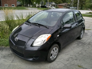 NEED GONE 2007 Toyota yaris CE 2 DR Hatchback