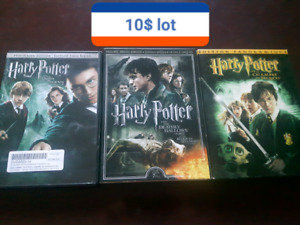 Divers dvd humour, séries, harry Potter, lord of the ring