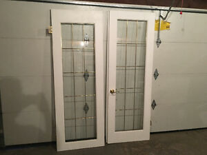 Glass Interior French Doors