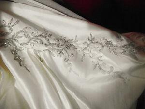 Ivory Ballgown style wedding dress plus veil & headpiece Windsor Region Ontario image 4