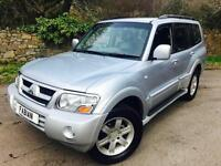 Mitsubishi Shogun 3.2DI-D Auto Warrior **7 Seats - Only 80,000 Miles - FSH**