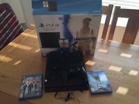 PS4 1TB - 2 games, The Divison + DLC and Star Wars Battlefront - Latest Version, CUH-1200 series
