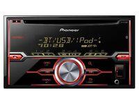 Pioneer FH-X720BT Double Din CD USB Car Stereo