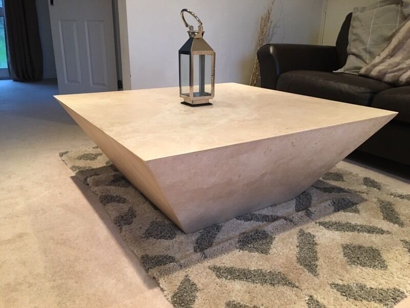 Marble coffee table matching side table in bramhall manchester gumtree Matching coffee table and end tables