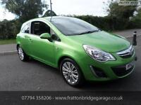 VAUXHALL CORSA SE AUTOMATIC F.S.H Low Miles Great Spec Model, Green, Auto, Petro