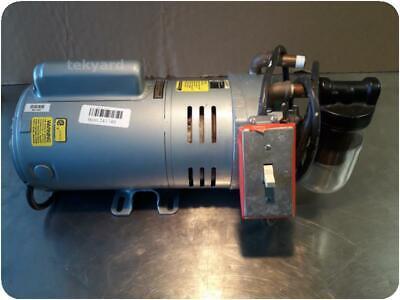 Ge Gast 5kc49nn0194ax Compressor Rotary Vane Vacuum Pump