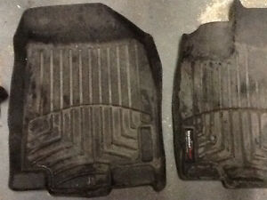 2008 Lincoln MKX weather tech mats Cambridge Kitchener Area image 3