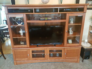 Entertainment Unit for Sale $300 or Best Offer