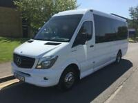 2015 Mercedes-Benz Sprinter 2.2 CDI 516 17 Seat Luxury Mini Coach Manual Minibus