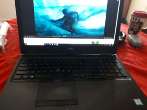 like new Dell Latitude E5550 with extras low end gaming computer