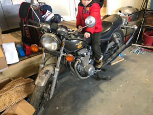Classic motorcycle for sale